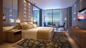 Sabbia Condo Bedroom Rendering