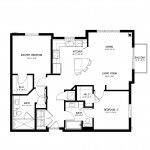 Metropolitan Riesling 2 Bedroom Apartment