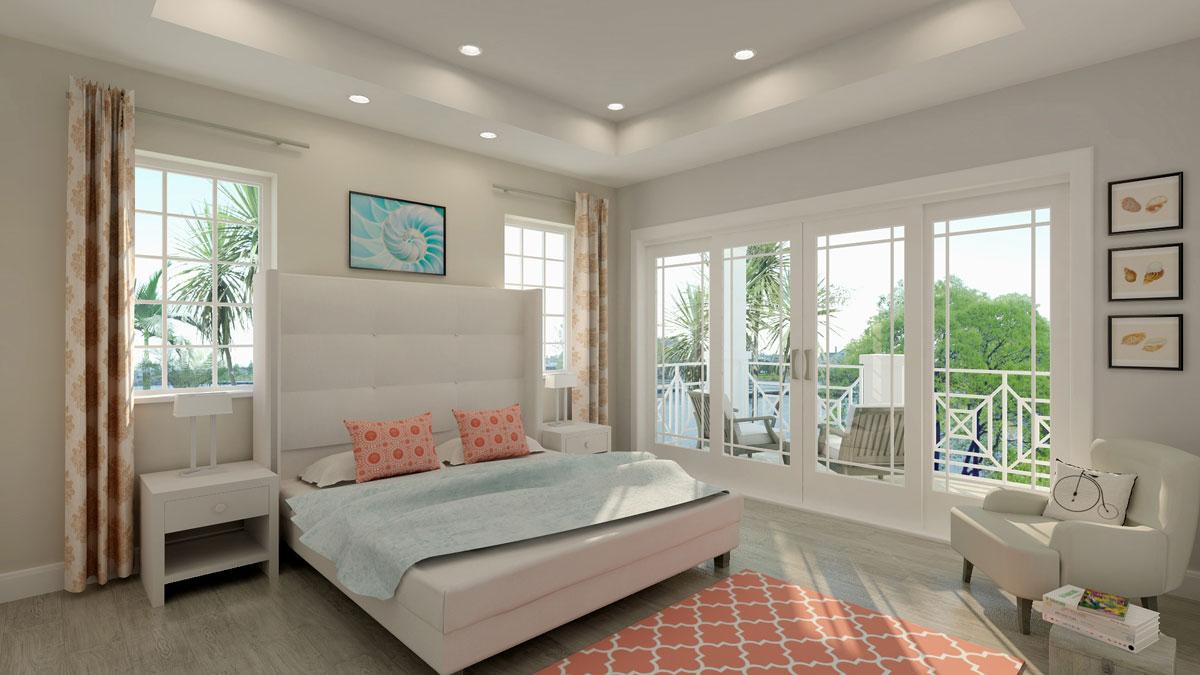Rendering of Velero Townhouse Bedroom