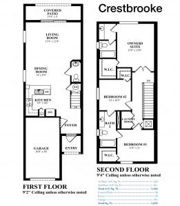 Eastside Village - Crestbrooke Floorplan