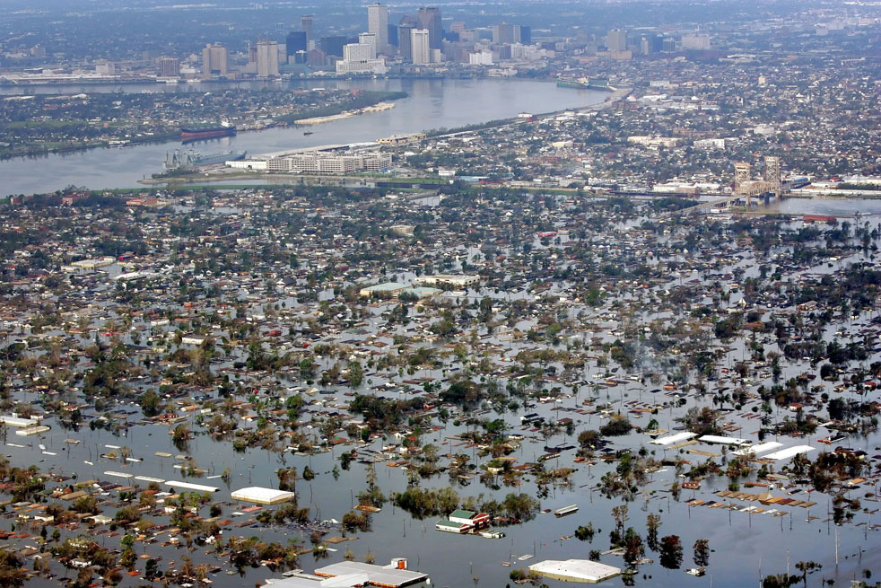 Hurricane Katrina Flood