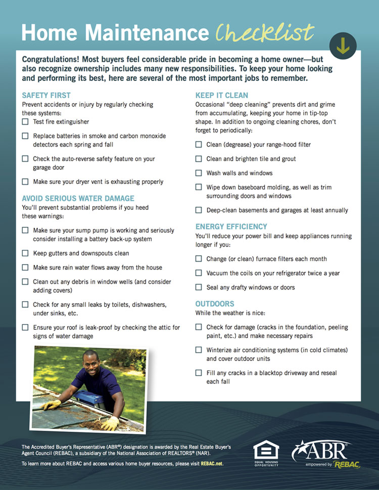 home maintenance checklist spring pdf florida nyt