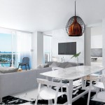 Living Room Rendering - W Condo Fort Lauderdale