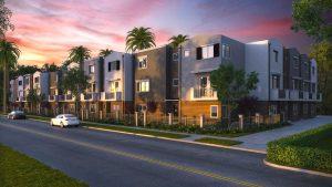 Condominium Sunset in Florida