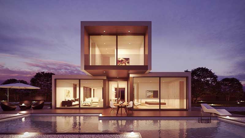 Contemporary Pool Home