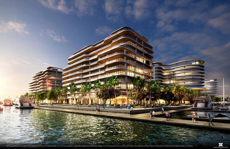 Bahia Mar Hotel-Marina Redevelopment Rendering