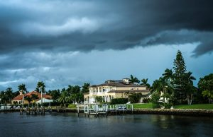 Hurricane Wilma Storm Coming