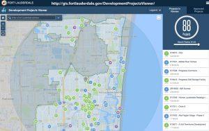 Ft. Lauderdale New Development Map Screenshot