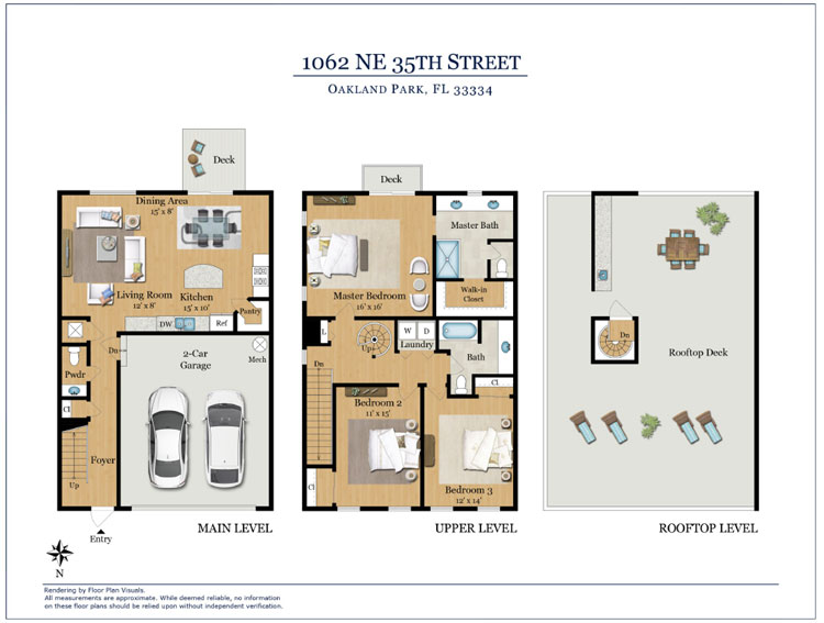 Oakland Terrace Floorplan