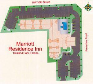 Residence Inn Park Lane West Site Plan