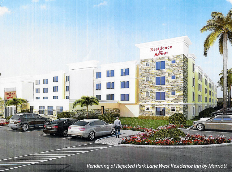 Park Lane West Residence Inn Rejected