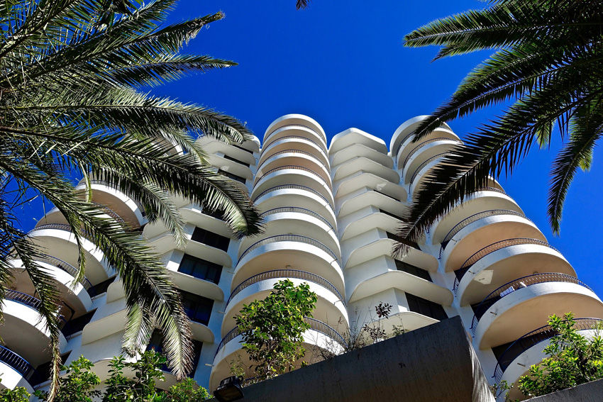 Condo Tower Balconies