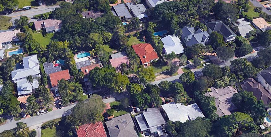 Colee Hammock Aerial View