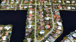 Central Corals Neighborhood Aerial In Oakland Park