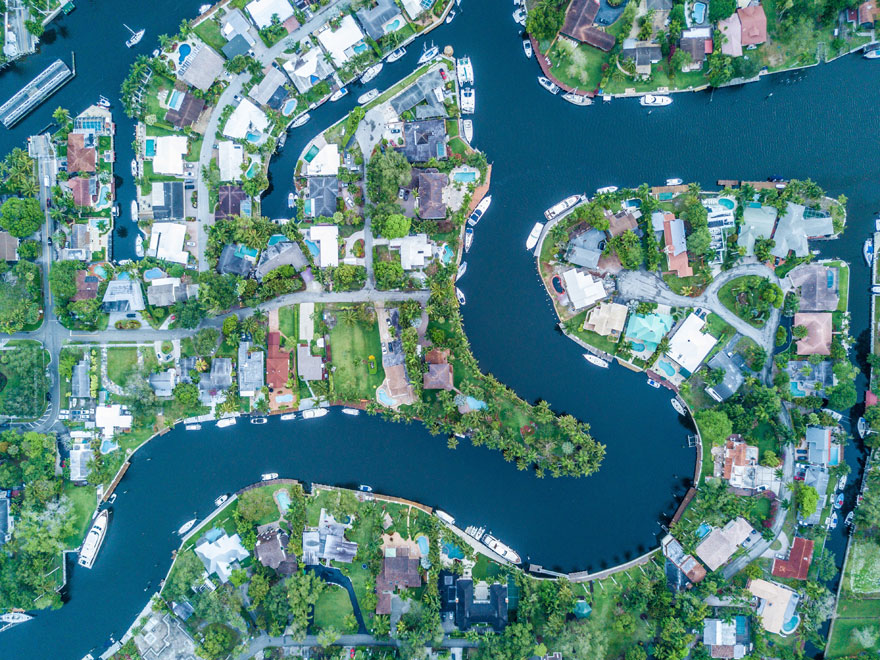 Fort Lauderdale Aerial Homes