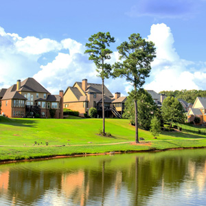 Hidden Value of Homeownership - Homes on a Lake