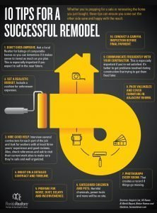 Infographic: 10 Tips for a Successful Remodel
