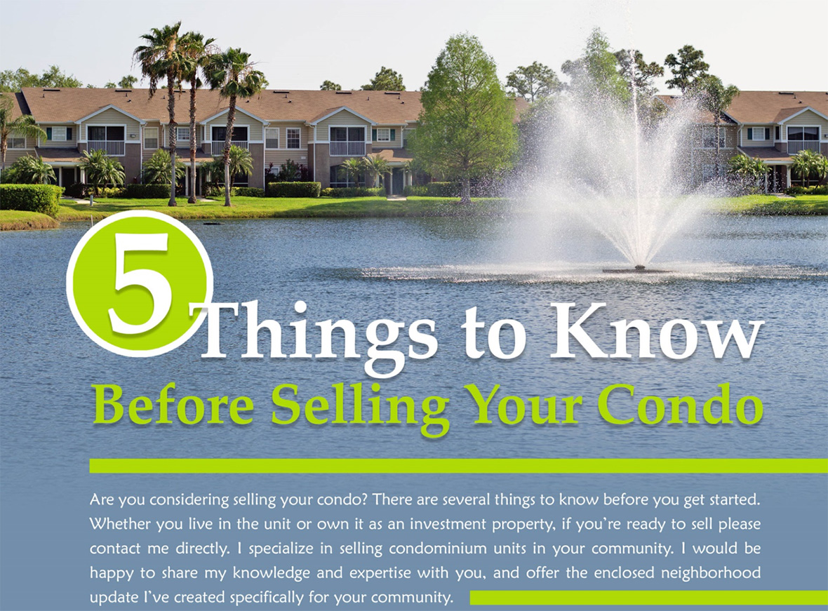 5 Things to Know Before Selling your Condo