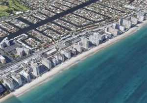 Galt Ocean Mile Aerial of Beach Condos