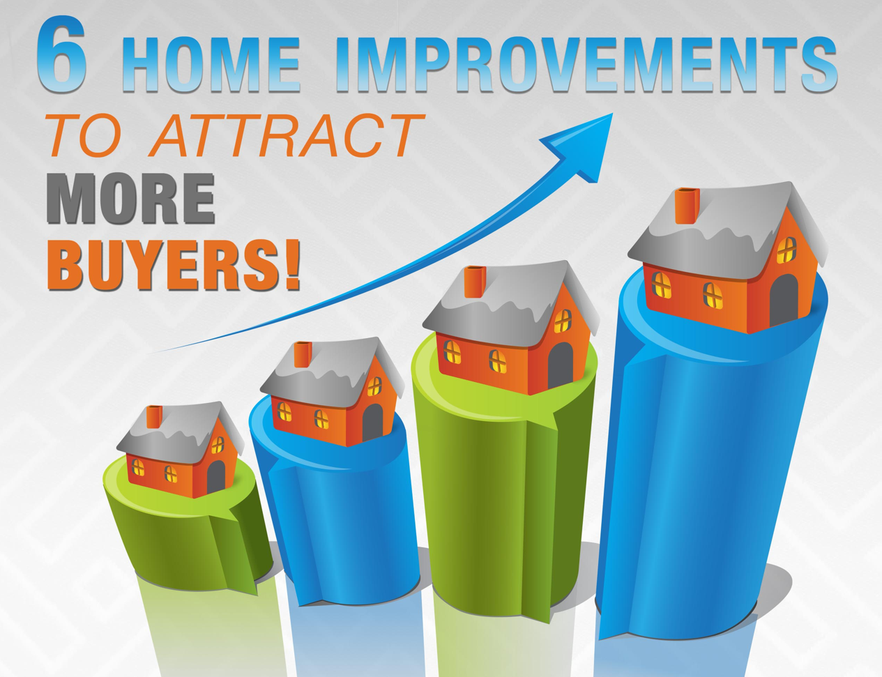 Home Improvements that attract buyers