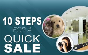 10 Steps for Quick Home Sale